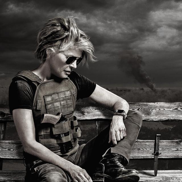 画像: ターミネーターへの復讐のためだけに生きているサラ・コナー