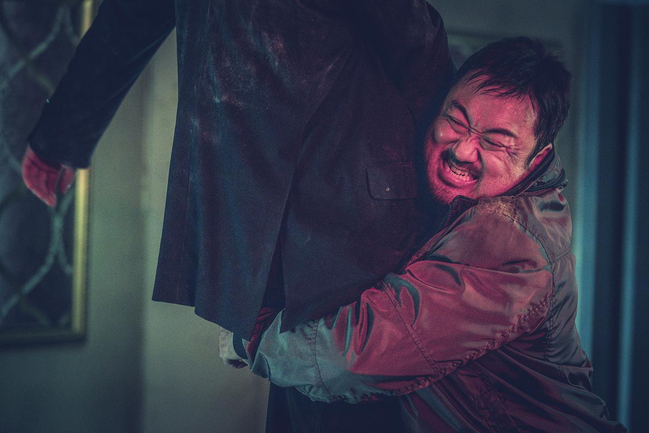 """画像3: PART1 マ・ドンソクが誘拐犯と""""ブチ切れ""""対決!「無双の鉄拳」"""