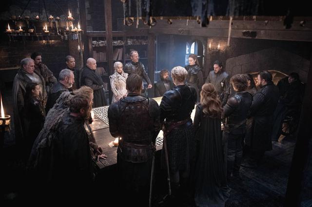 画像: TVシリーズとしては異例の登場人物の多さ