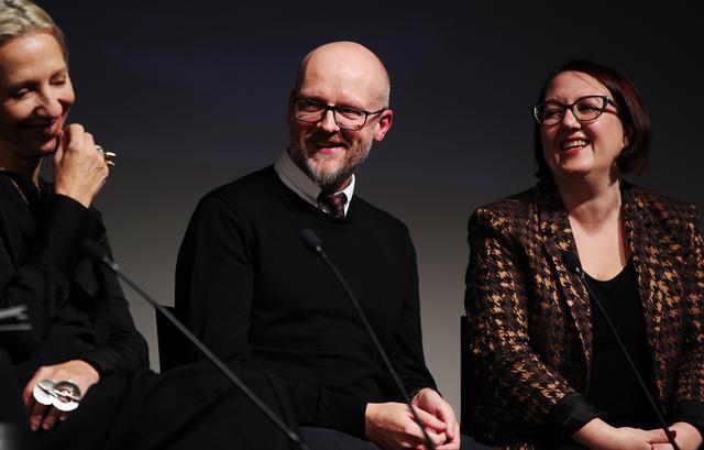 画像: 特殊メイクデザイナーのバリー・ガウアー(左)と特殊メイク担当のサラ・ガウアー