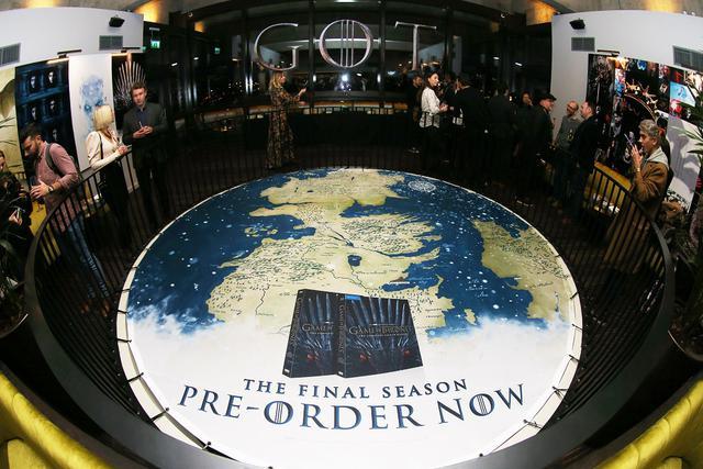 画像: イベント会場に展示された二大大陸の地図