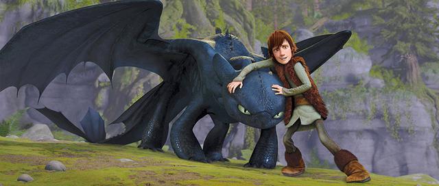 画像: 第1作:「ヒックとドラゴン」(2010)