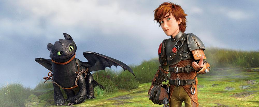 画像: 第2作:「ヒックとドラゴン2」(2014)