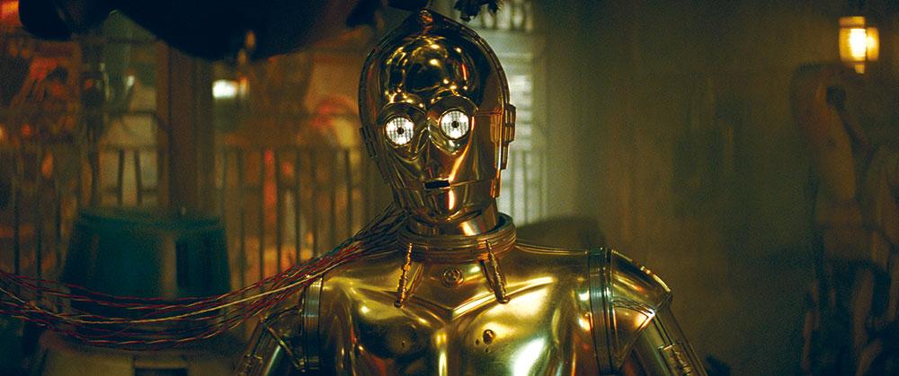画像: 宇宙語に精通する通訳用ドロイド、R2-D2とは大親友 C-3PO (アンソニー・ダニエルズ)