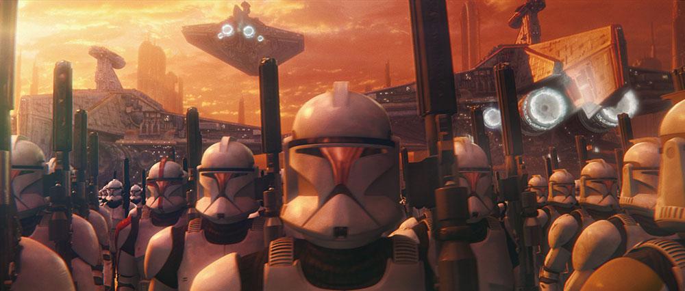 画像: ▶帝国軍のストームトルーパーたち