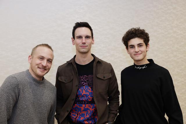 画像: Photo by 森田ツクル(左からロビン・ロード・テイラー、コーリー・マイケル・スミス、ダヴィード・マズーズ)