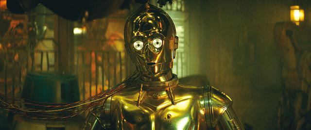 画像: あるミッションのため記憶を失うことになるC-3PO