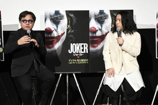 画像: 左から映画評論家の松崎健夫、ピースの又吉直樹