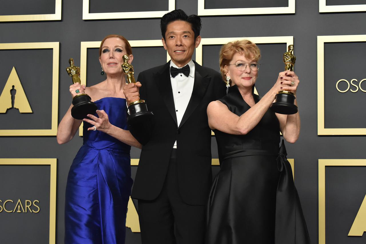 画像: メイキャップ賞受賞のカズ・ヒロ Getty Images