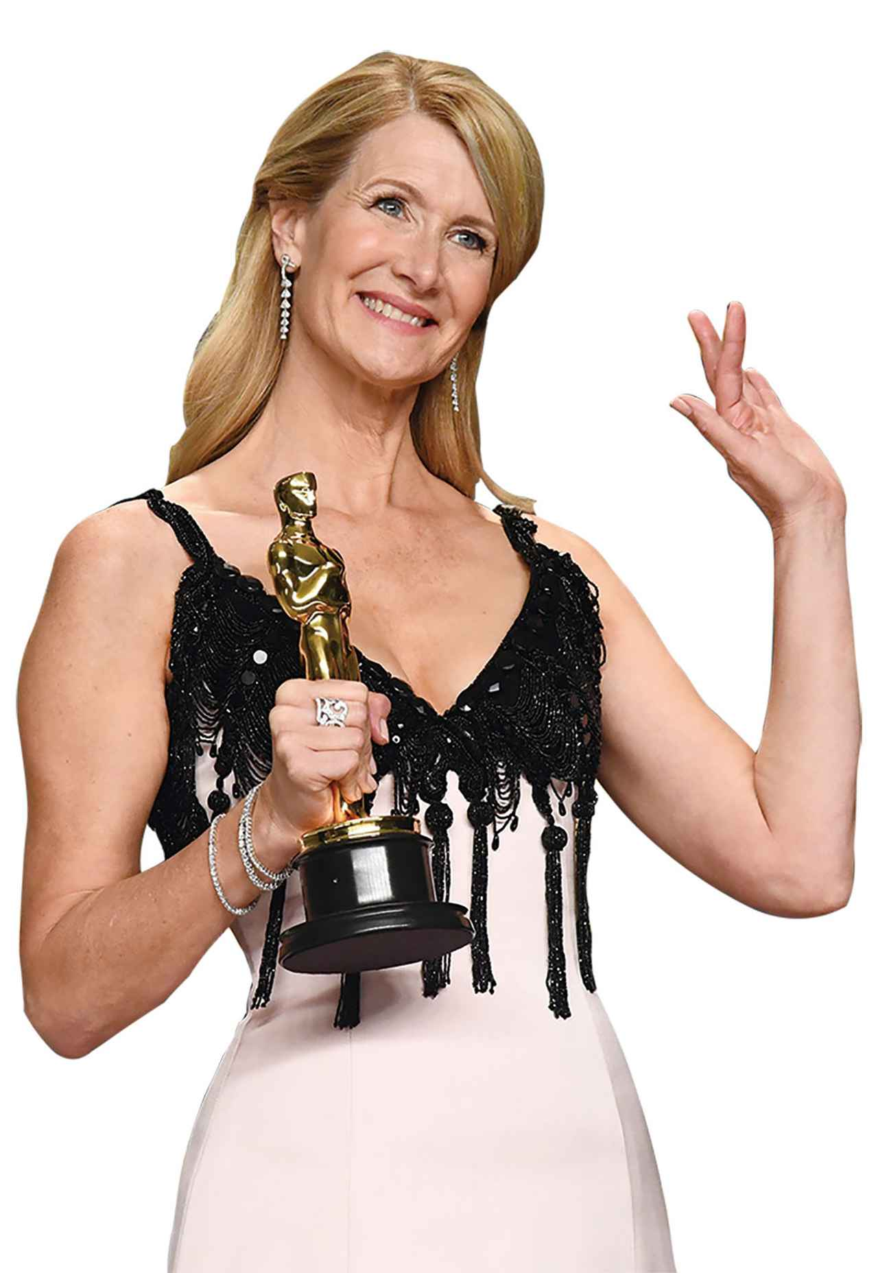 画像: 助演女優賞を受賞した ローラ・ダーン