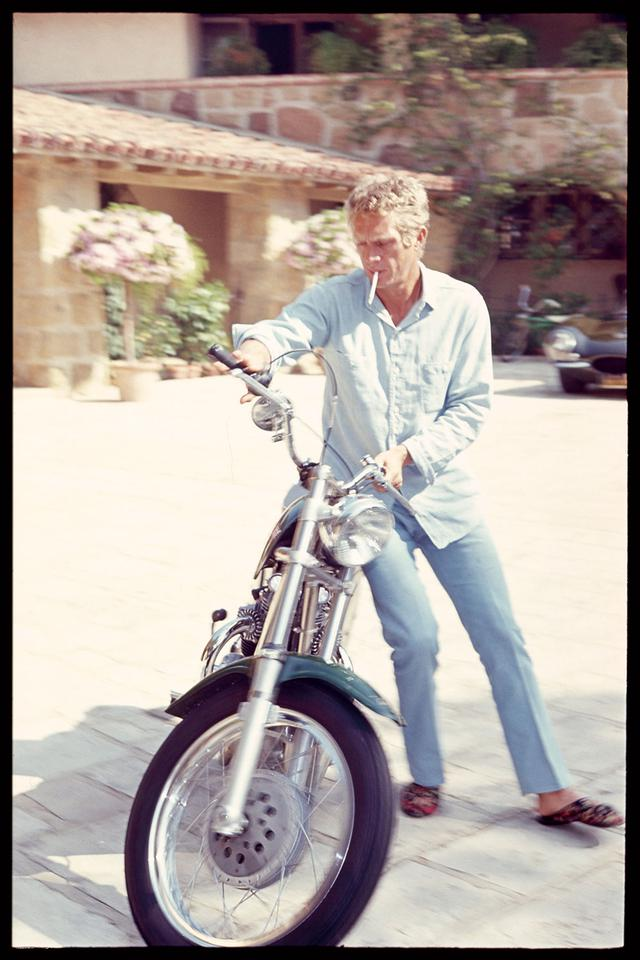 画像: バイクへのこだわりもかなりのものだった