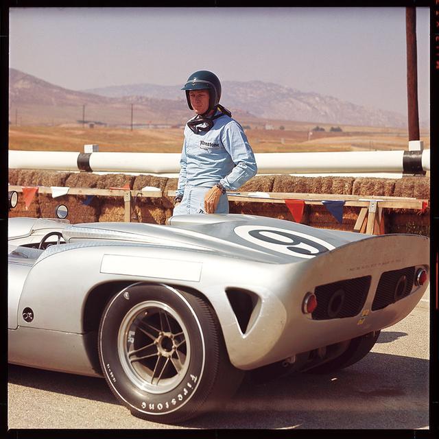画像: マックイーン本人もスピード・マニアで知られていた