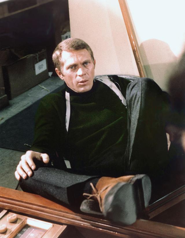 画像: クールな刑事役に扮した「ブリット」