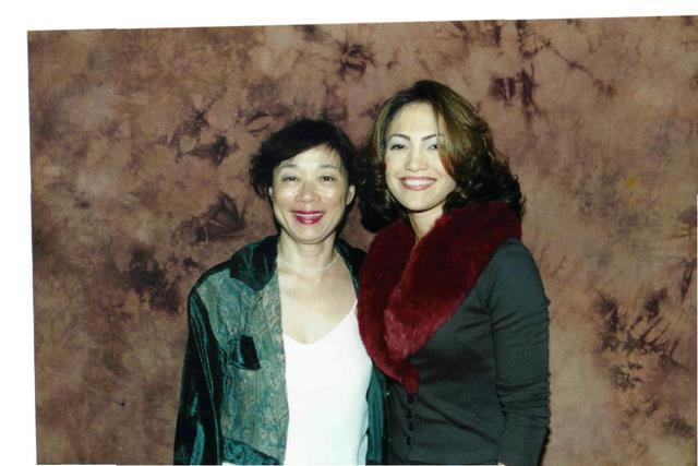 画像: 90年代の頃の筆者とジェニファー 筆者とジェニファー