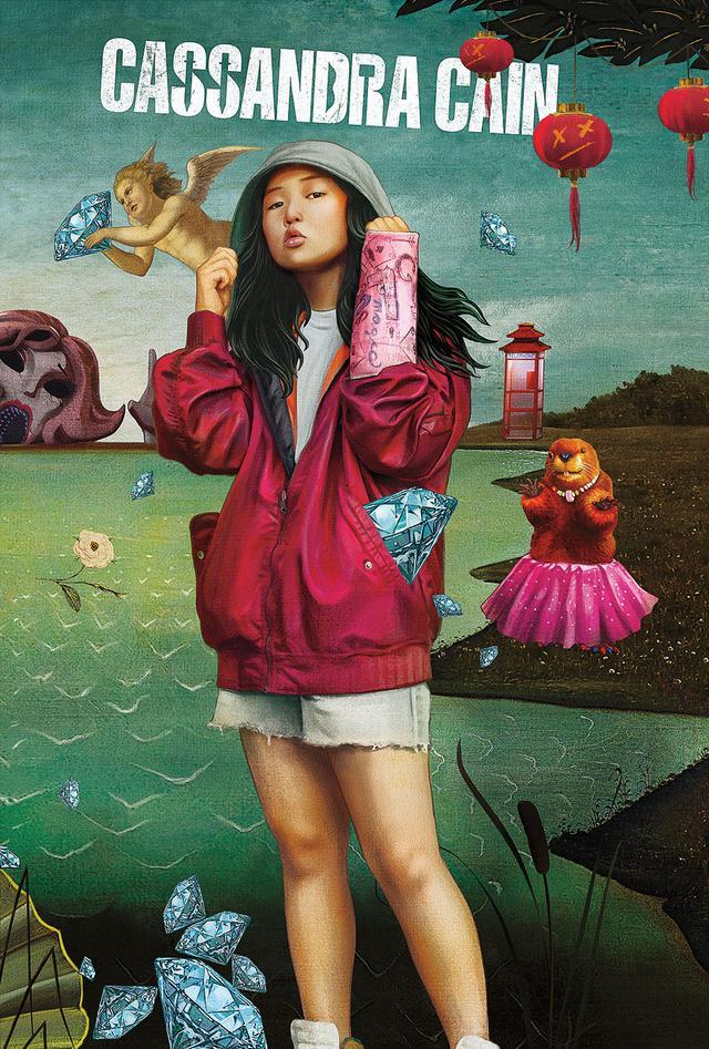 画像: ダイヤを盗み命を狙われるスリ少女 カサンドラ・ケイン (エラ・ジェイ・バスコ)