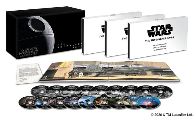 画像: <スター・ウォーズ スカイウォーカー・サーガ 4K UHD コンプリートBOX(数量限定)>/50,000円+税