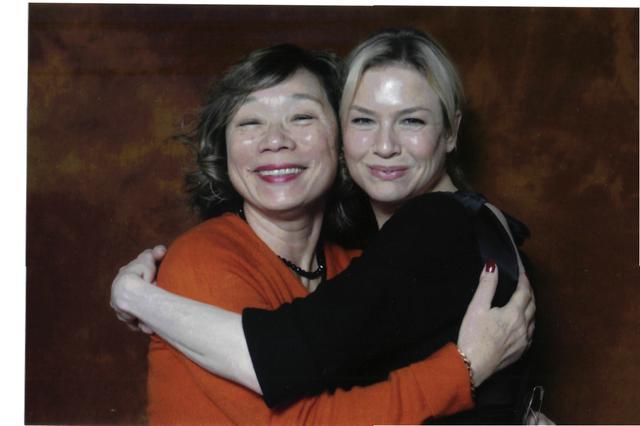 画像: 90年代の筆者とレネー