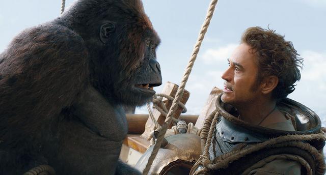 画像: 児童文学でおなじみ、動物と喋れるドリトル先生をチャーミングに演じている「ドクター・ドリトル」