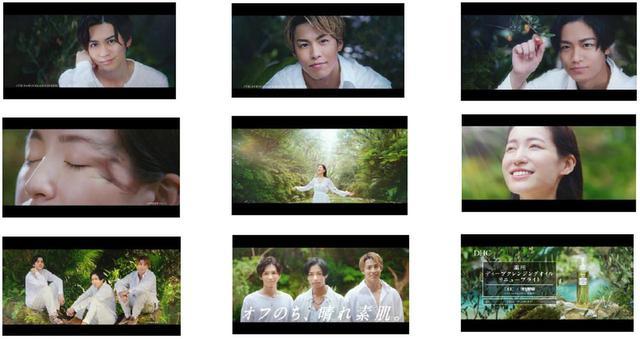 画像: 上段左から:吉野北人、RIKU、川村壱馬