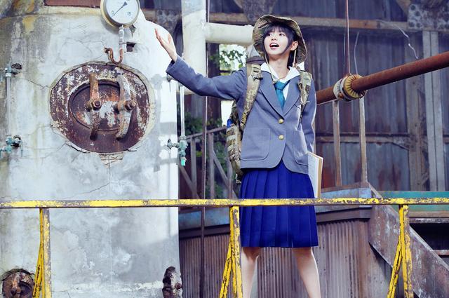 画像2: TVドラマ「映像研には手を出すな!」第2話、プロペラスカートで齋藤飛鳥が空を飛ぶ!?