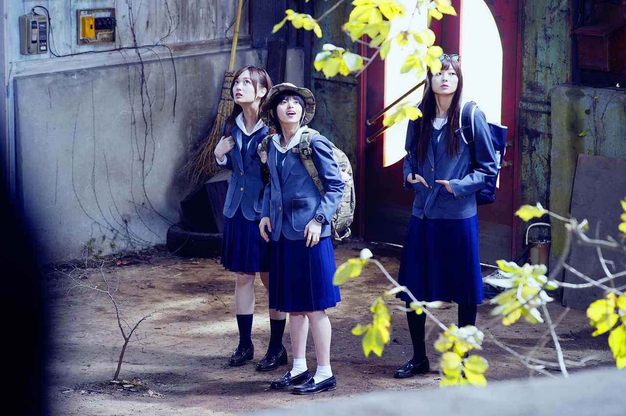 画像1: TVドラマ「映像研には手を出すな!」第2話、プロペラスカートで齋藤飛鳥が空を飛ぶ!?