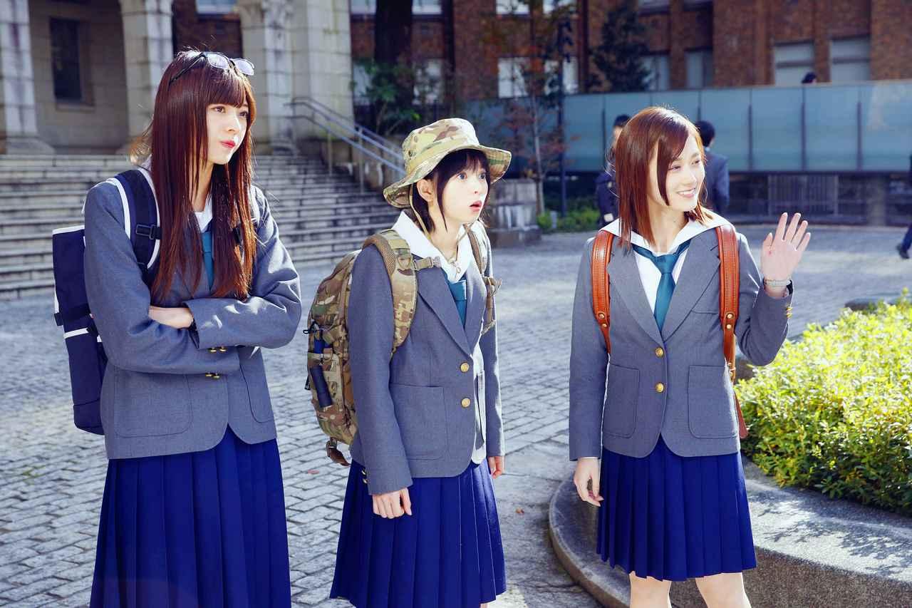 画像3: TVドラマ「映像研には手を出すな!」第2話、プロペラスカートで齋藤飛鳥が空を飛ぶ!?