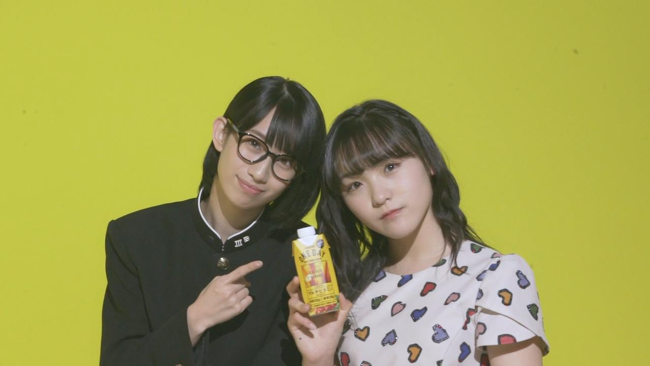 画像: 左:前田こころ、右:清野桃々姫