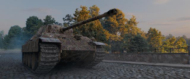 """画像: """"打倒T-34""""!V号戦車パンター"""
