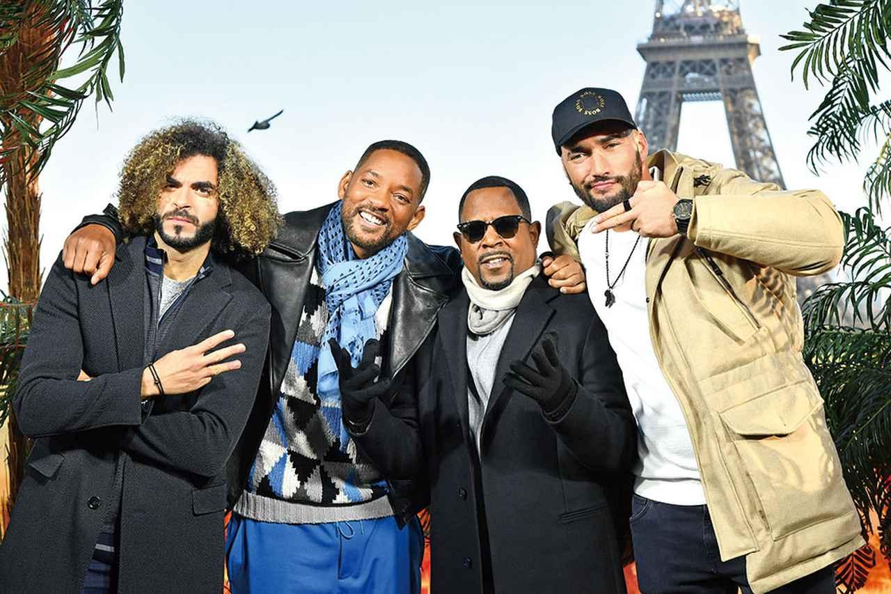 画像: 「バッドボーイズ」の大ファンだという監督コンビ。写真はパリで行なわれた本作のフォトコールにて