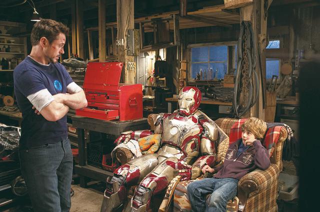 画像: 「アイアンマン3」でトニー・スタークを助けた少年