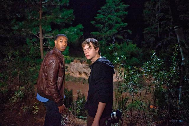 画像: マイケル・B・ジョーダン(左)デイン・デハーン(右)