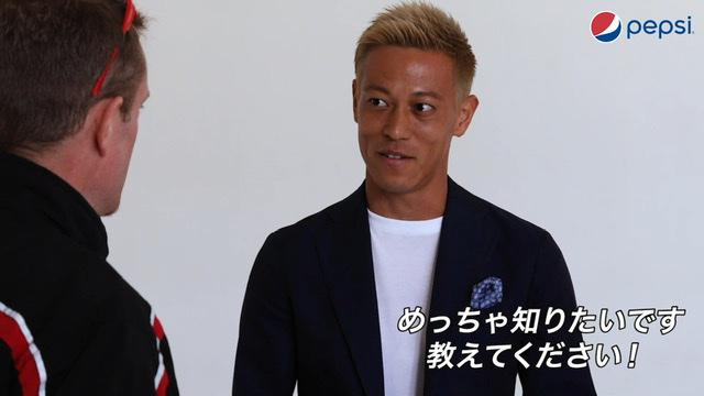 画像4: 本田圭佑がじゃんけん元世界王者とのじゃんけん修行でさらにパワーアップ