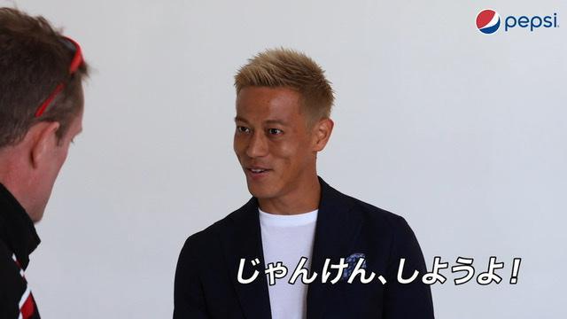 画像8: 本田圭佑がじゃんけん元世界王者とのじゃんけん修行でさらにパワーアップ