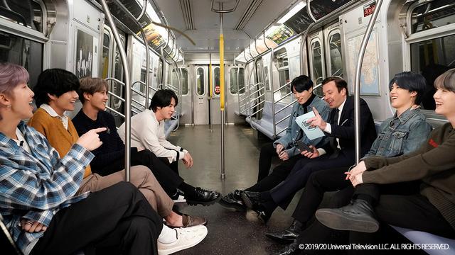 画像1: [日本初配信]BTSが出演したアメリカの人気番組がdTVで配信