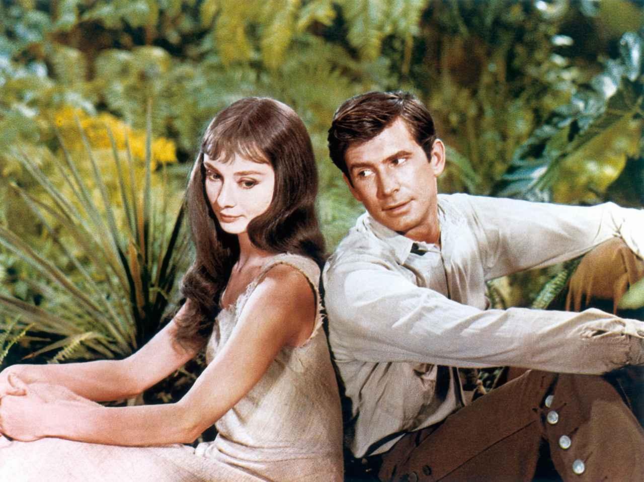 画像: 瑞々しい緑に囲まれた二人の愛 「緑の館」(1959)