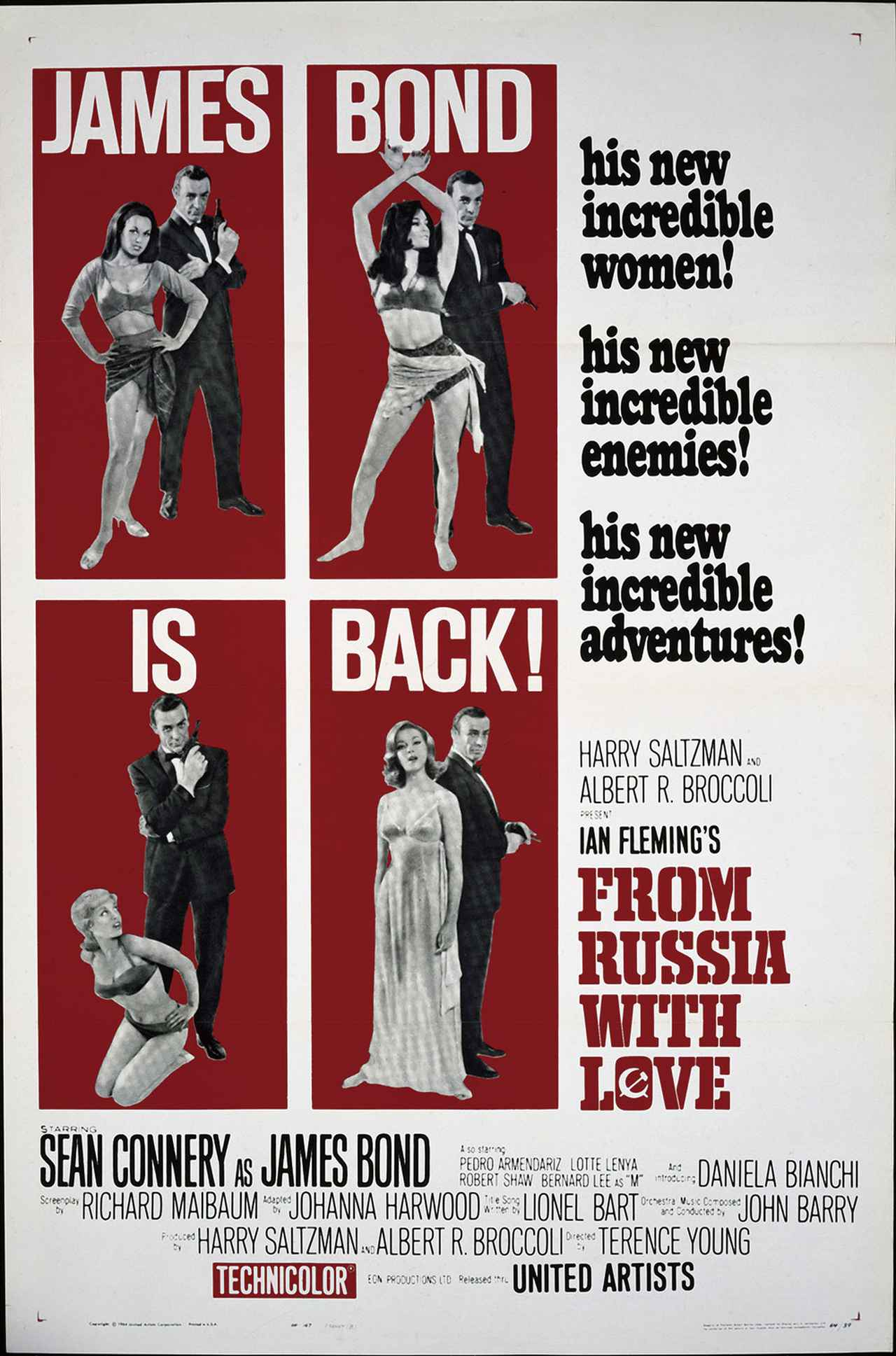 画像2: 世界のポスターで見る「007」シリーズ 全24作品まとめ