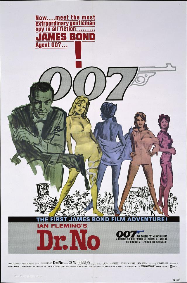 画像1: 世界のポスターで見る「007」シリーズ 全24作品まとめ