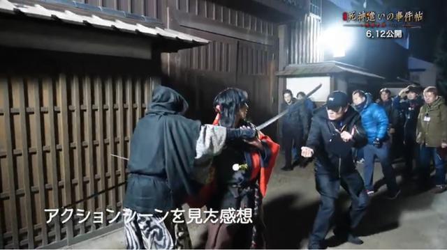 画像: 主演鈴木拡樹とアクション監督との殺陣のシーンでの一幕