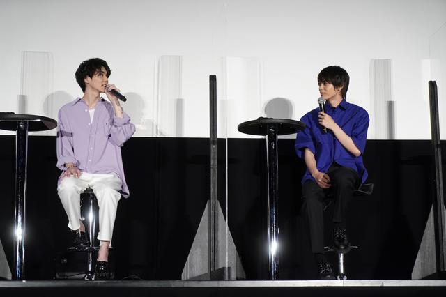 画像: 左から:吉野北人、神尾楓珠 ©2020『私がモテてどうすんだ』製作委員会 ©ぢゅん子/講談社