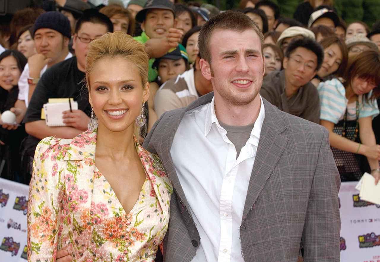 画像: 2005年にジェシカ・アルバと来日