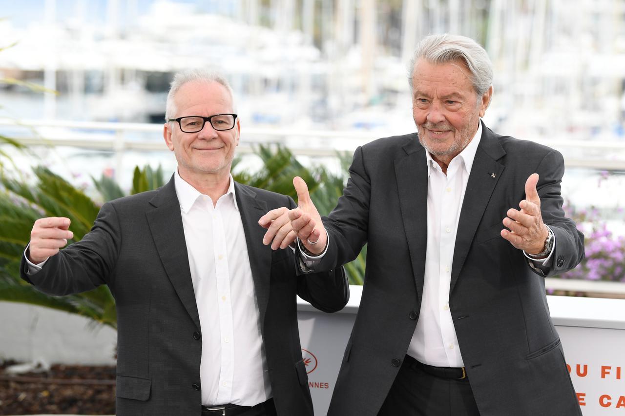画像: 映画祭開催に向け奔走したティエリー・フレモー代表(左/写真は2019年のカンヌ)