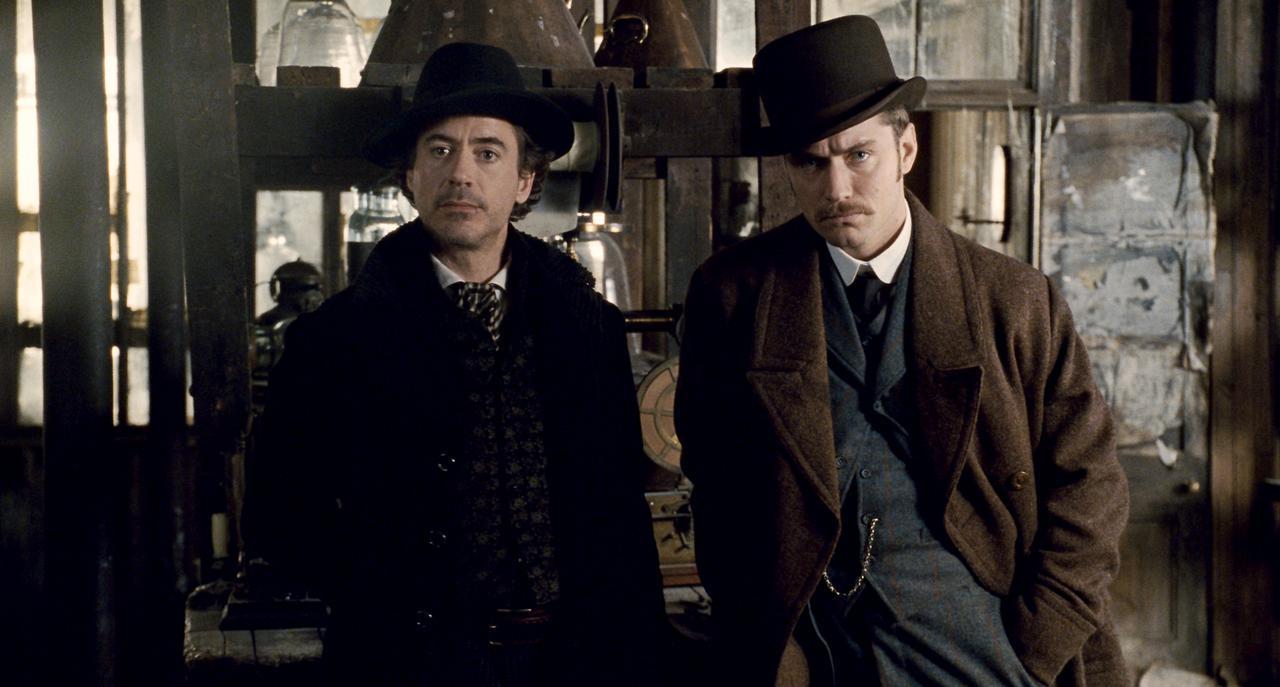 画像: 「シャーロック・ホームズ」のホームズ&ワトソン(ロバート・ダウニー・ジュニア&ジュード・ロー)