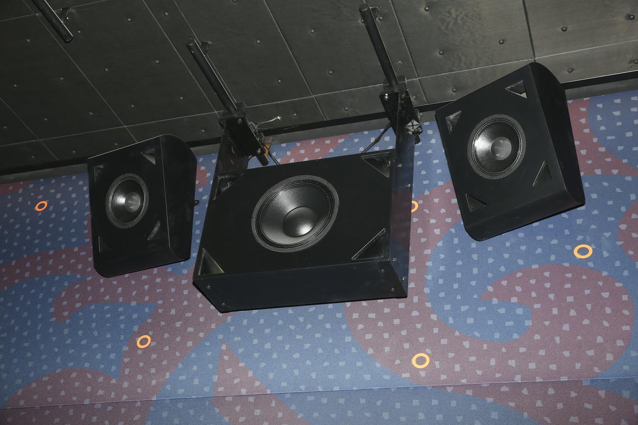 画像: すべてカスタムメイドという高性能スピーカーが素晴らしい音響を生み出す