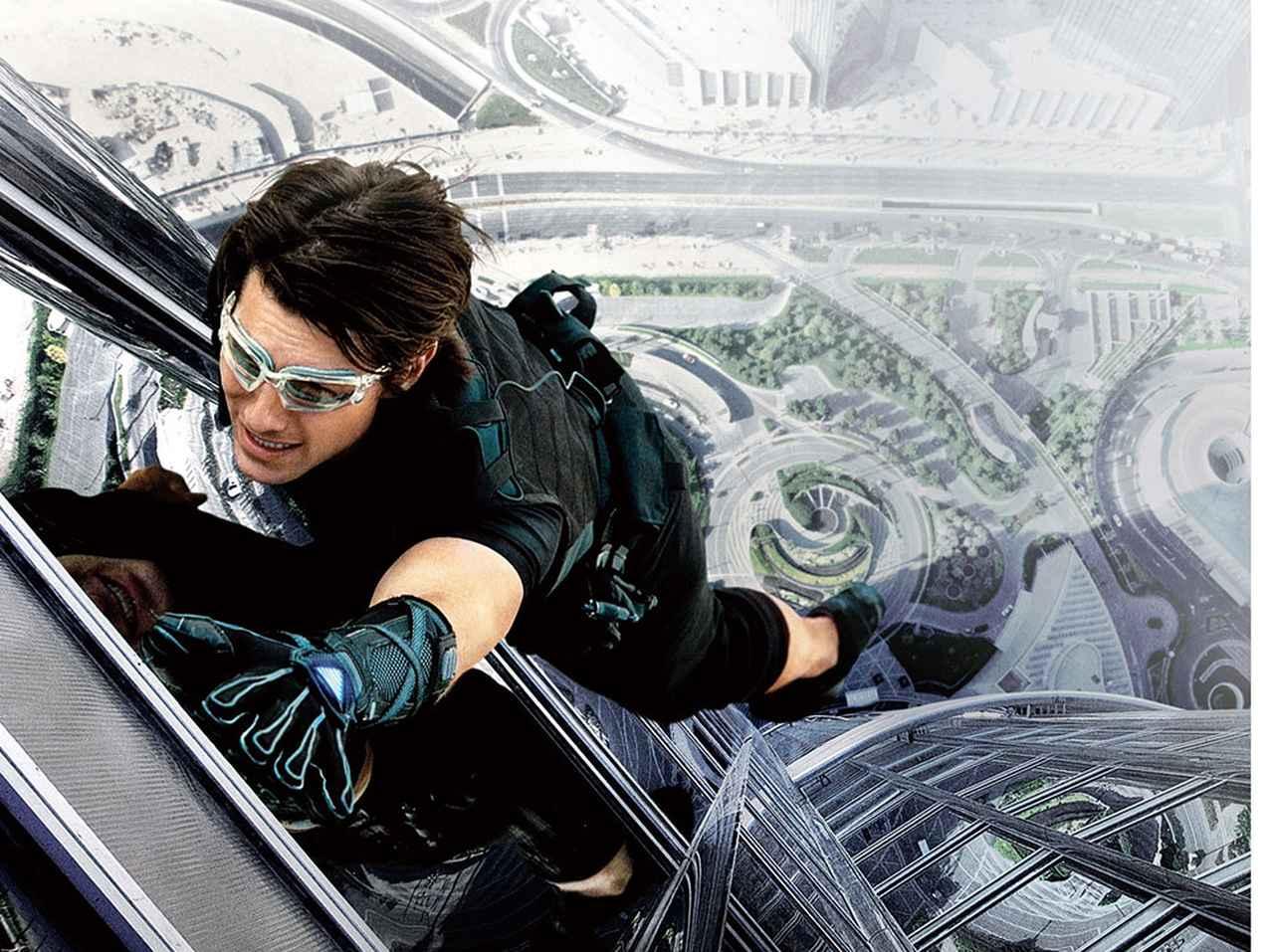 画像: ドバイの超高層ビルのてっぺんで繰り広げられるアクションに誰もが目を覆った「ゴースト・プロトコル」