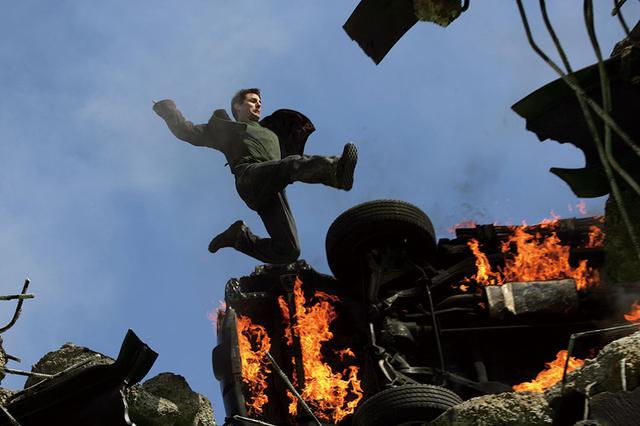 画像: 第3作「M:I:Ⅲ」では橋の上のアクションが見せ場だった