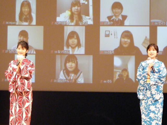 画像: 写真左から:浜辺美波、福本莉子