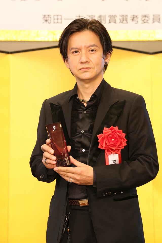画像2: 第四十五回 菊田一夫演劇賞 授賞式、大賞受賞の堂本光一「自分がいまここにいるのはジャニーさんのおかげ」