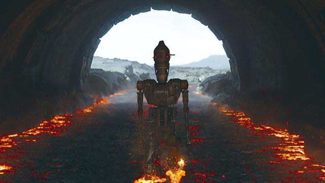 画像: IG-11を自ら演じているタイカ・ワイティティーなど愛が重いSWトークも必見(写真はCHAPTER8より)