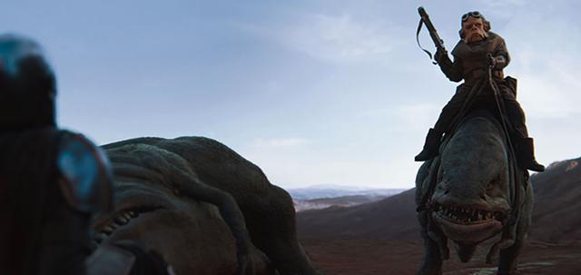 画像: 獲物を追う道中でマンドーはクイールに出会う