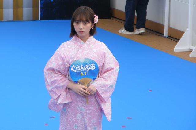 画像: ピンク色のCUTEな浴衣姿で登場の与田祐希(乃木坂46)